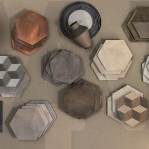 Carrelage Hexagone