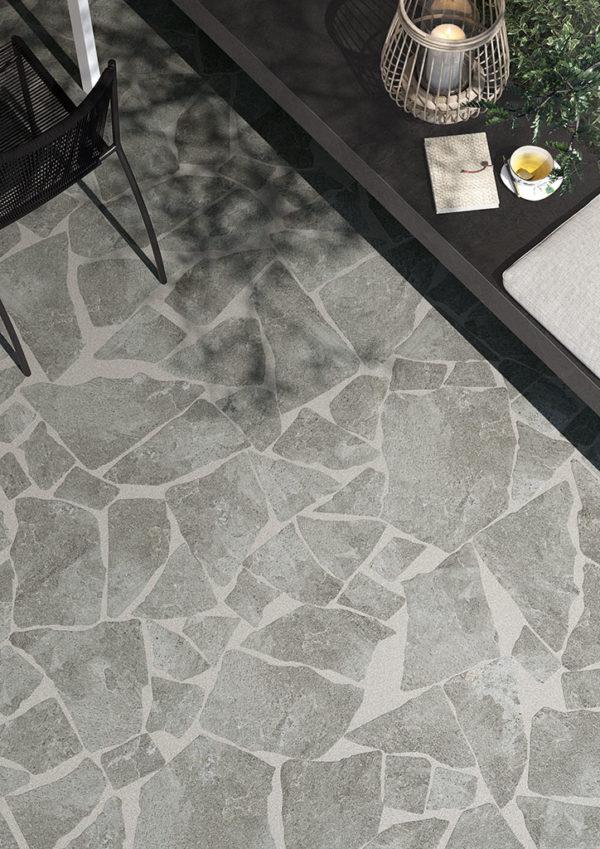 carrelage imitation pierre série stone graphite palladiana 2