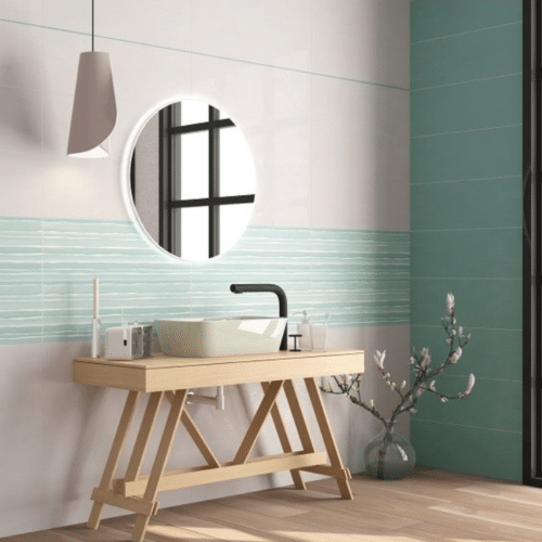 Carrelage mural salle de bains - 25x75 - Charente-Martime Oléron