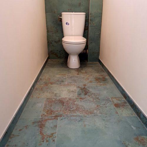 réalisation de toilette