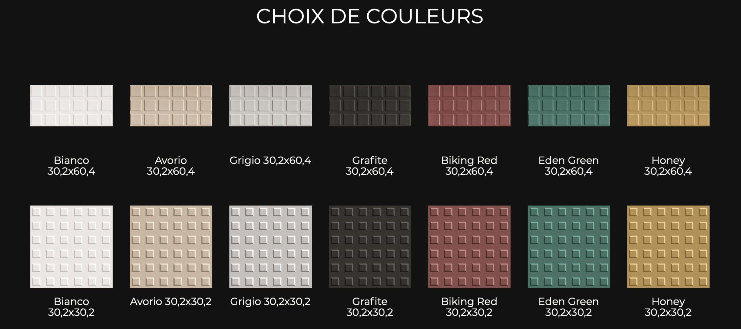 Carrelage choix décors et textures Oléron